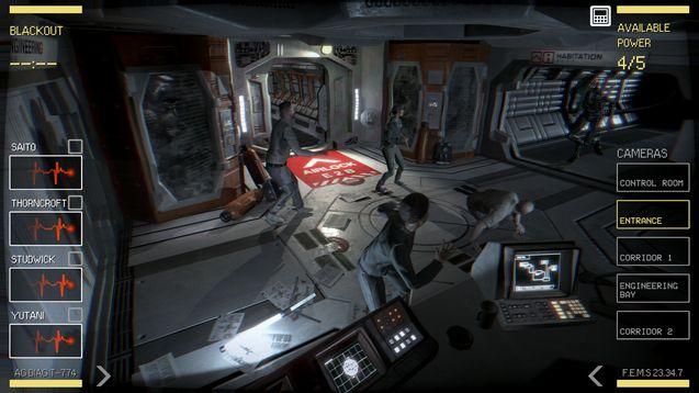 photo jeu Alien Blackout