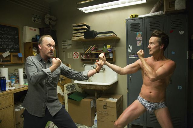 photo, Michael Keaton, Edward Norton