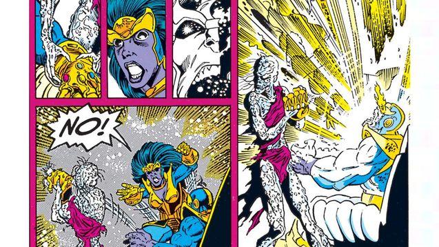 comics infinity gauntlet