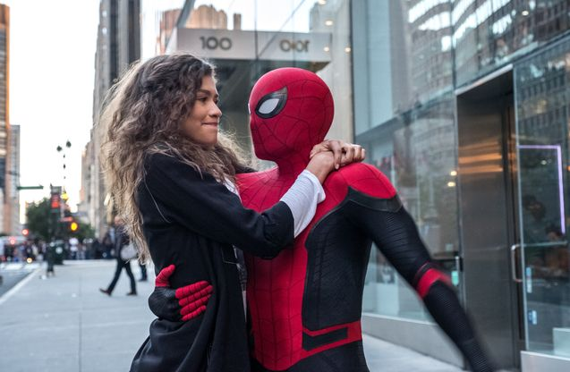 foto, Zendaya, Tom Holland