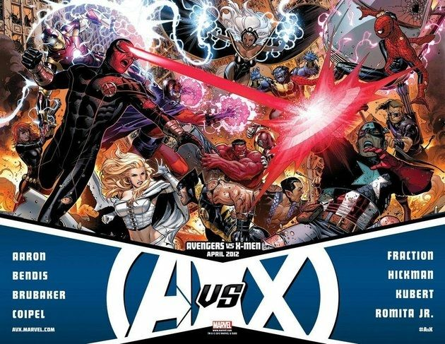 comics Avengers v. X-Men
