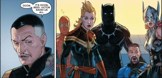 comics Secret Wars - Docteur Strange