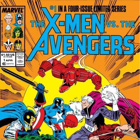 comics X-Men versus Avengers 1987
