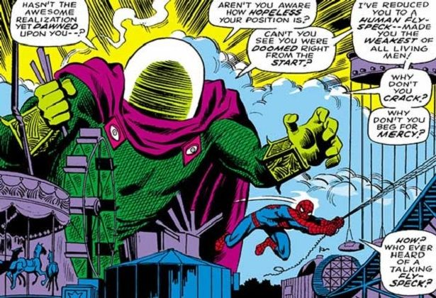 comics Spider-Man, Mysterio