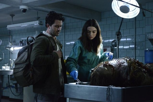 photo, Crystal Reed, Andy Bean