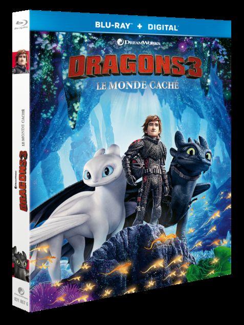 photo Dragons 3 Blu-Ray