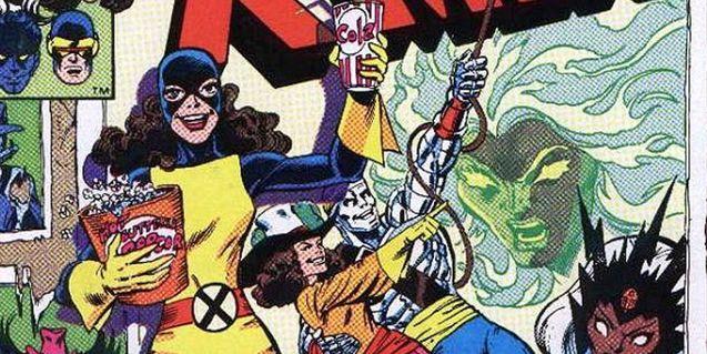 photo comics x-men - Kitty Pryde