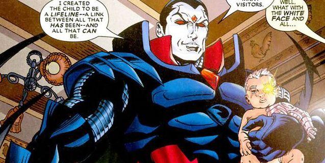 photo comics xmen - Mr. Sinister