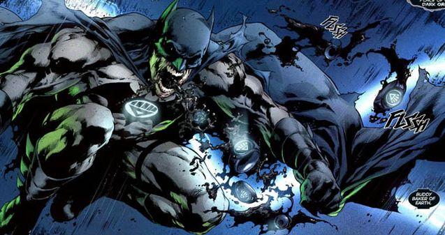 comics Green Lantern Blackest Night