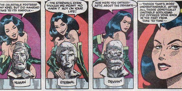 comic Eternals 1985