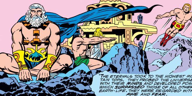 comics Eternals 1976