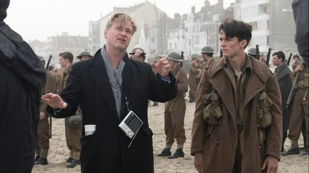 Photo Christopher Nolan, Fionn Whitehead