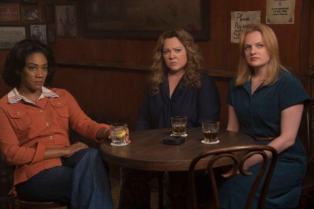 photo, Tiffany Haddish, Elisabeth Moss, Melissa McCarthy