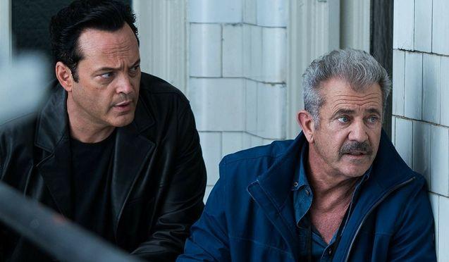 photo, Mel Gibson, Vince Vaughn