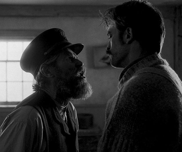 photo, Willem Dafoe, Robert Pattinson