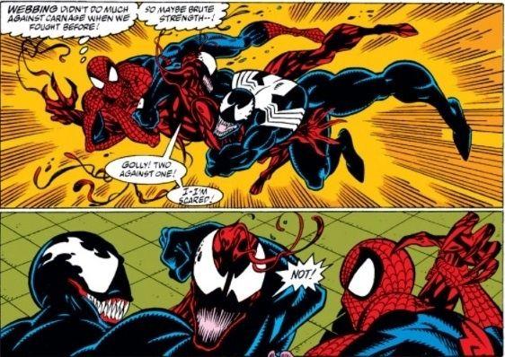 Spiderman Venom Carnage