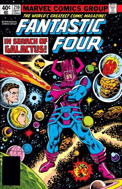 Couverture Galactus Fantastic Four