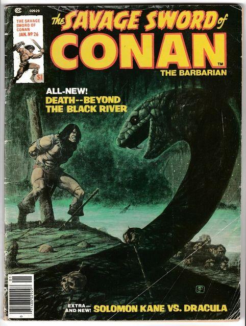 photo Conan comics