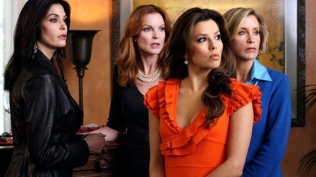 photo, Teri Hatcher, Marcia Cross, Eva Longoria, Felicity Huffman