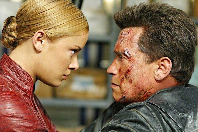 photo, Arnold Schwarzenegger, Kristanna Loken