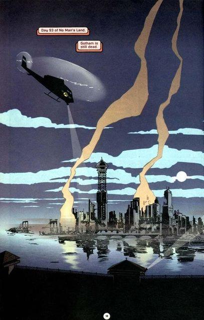 photo, no man's land, Gotham, comics
