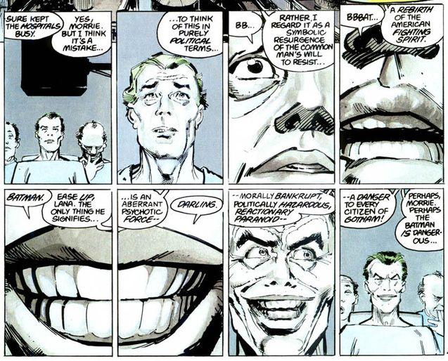 photo, Batman : The Dark Knight Returns - Partie 1, Batman : The Dark Knight Returns - Partie 2, Joker