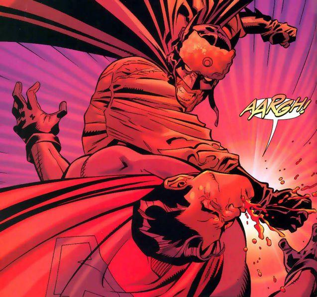 Superman se fait bolosser