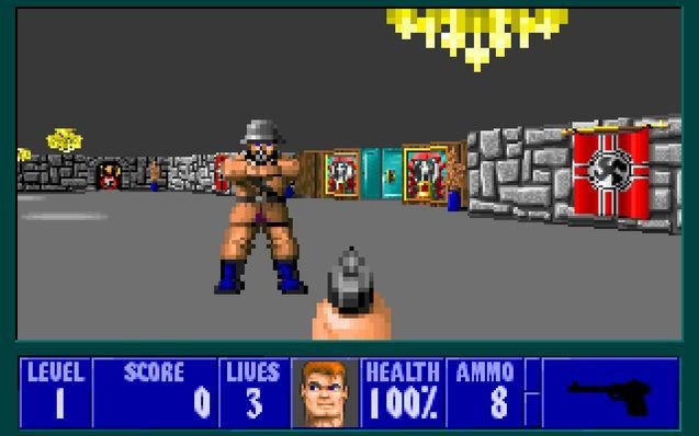 photo Wolfenstein 3D