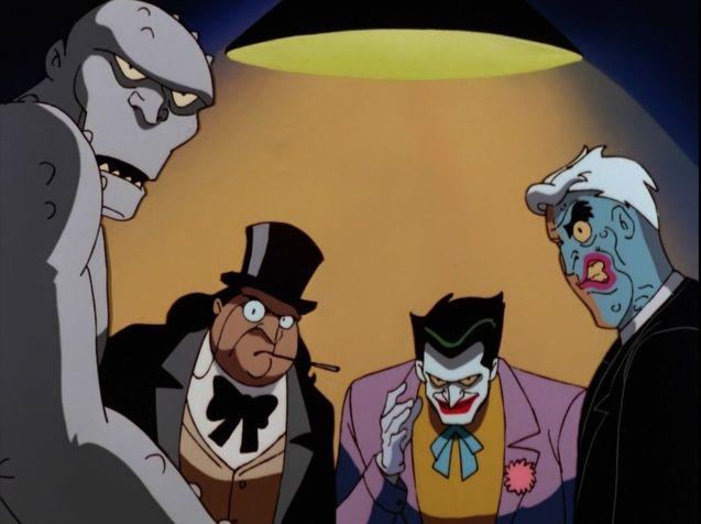 photo, Joker, Pingouin, Double-Face, Killer Croc