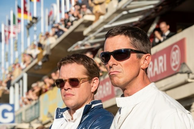 photo, Matt Damon, Christian Bale