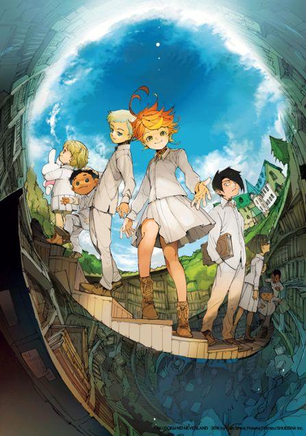 Illustration 3, The Promised Neverland