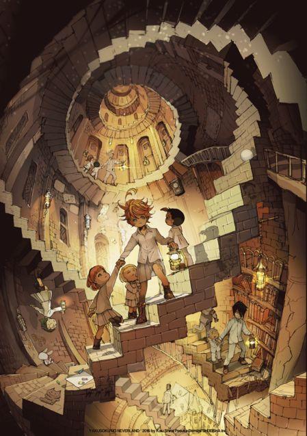 Illustration, The Promised Neverland