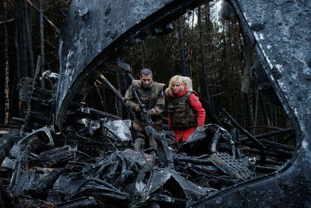 photo, Léa Drucker, Adel Bencherif, La Guerre des mondes