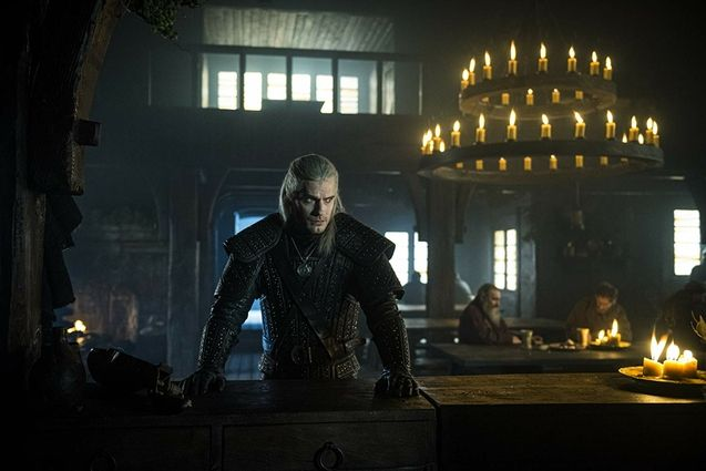 photo, Henry Cavill, The Witcher Saison 1