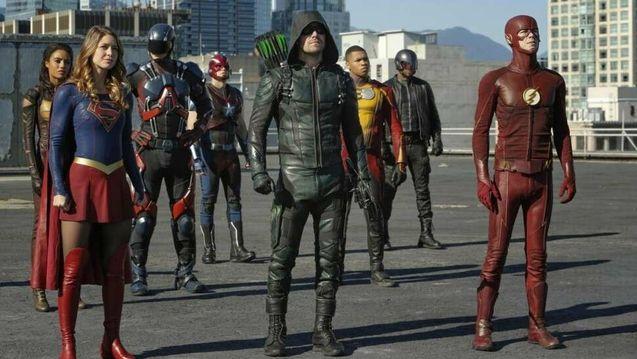 photo, The Flash, Supergirl, Batwoman, DC's Legends of Tomorrow, Black Lightning