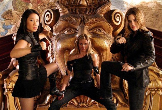 photo, Cameron Diaz, Drew Barrymore, Lucy Liu
