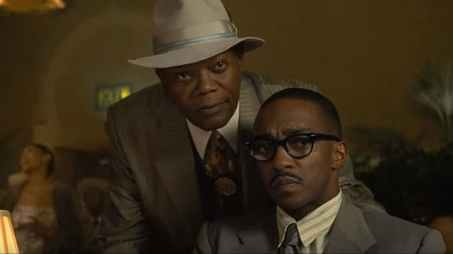 photo, Samuel L. Jackson, Anthony Mackie