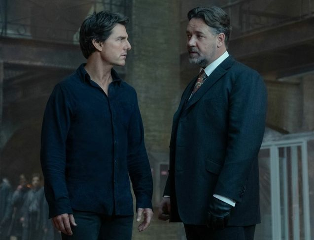 photo, Tom Cruise, Russell Crowe