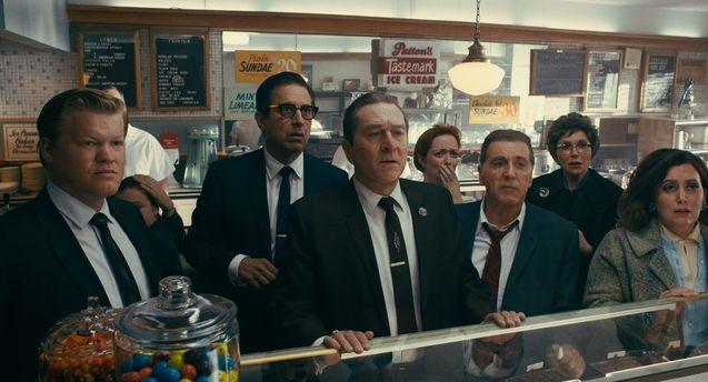 Photo Jesse Plemons, Ray Romano, Robert De Niro, Al Pacino