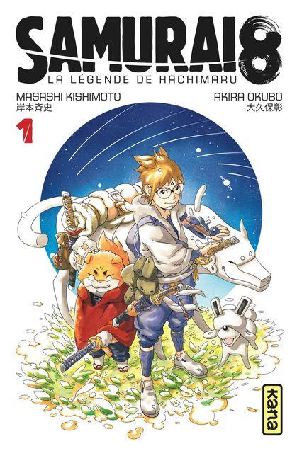 Couverture Tome 1, Masashi Kishimoto, Akira Okubo