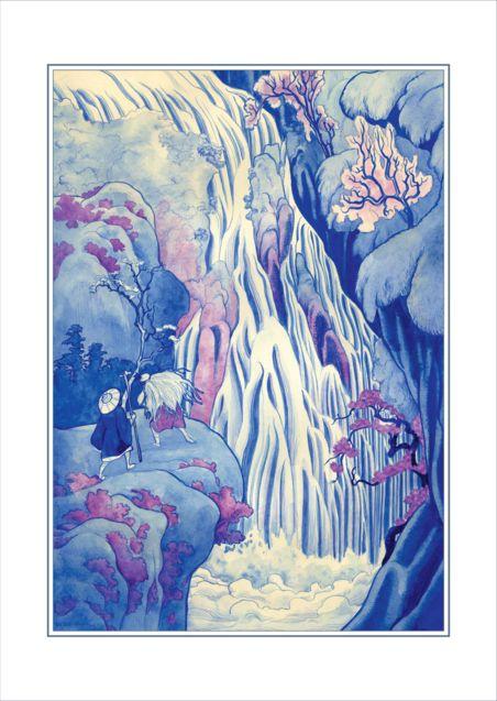 Illustration de Benjamin Lacombe 2, Benjamin Lacombe, Lafcadio Hearn