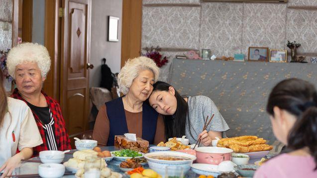 photo, Zhao Shuzhen, Awkwafina