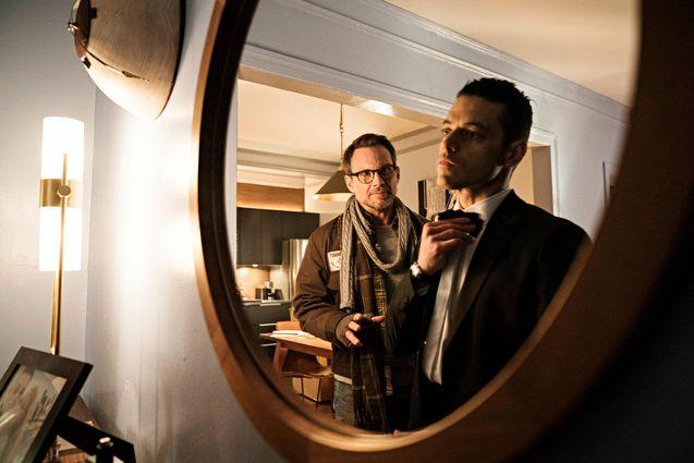 photo, Rami Malek, Christian Slater