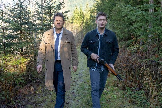 photo, Jensen Ackles, Misha Collins