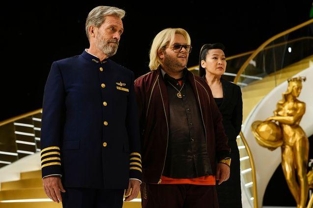 Photo Hugh Laurie, Josh Gad, Suzy Nakamura