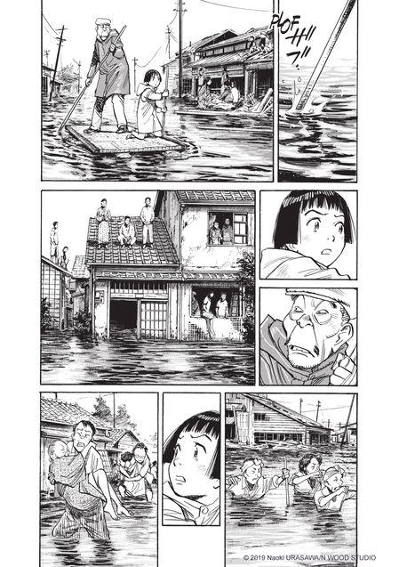 Planche Asadora 2, Naoki Urasawa