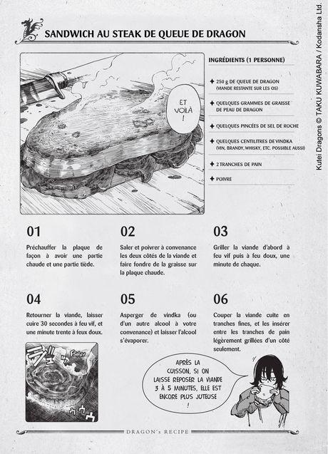 Recette au Dragon, Taku Kuwabara