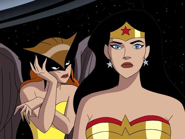 Hawkgirl, Wonder Woman