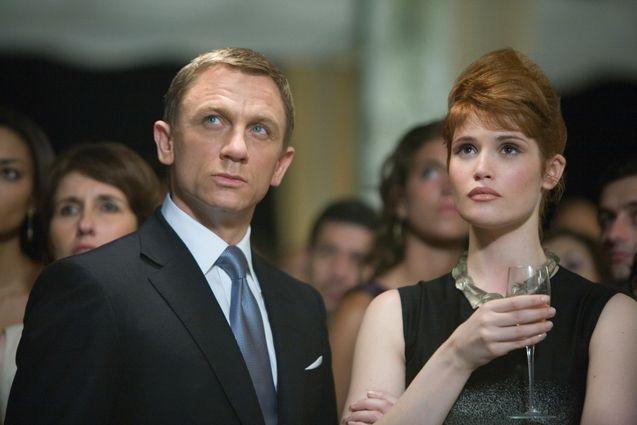 photo, Gemma Arterton, Daniel Craig