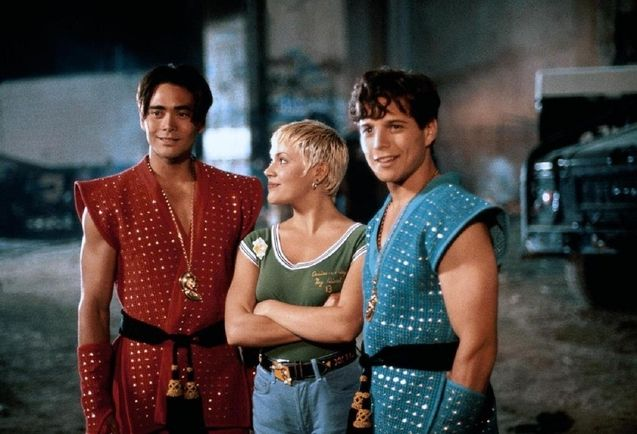 photo, Scott Wolf, Alyssa Milano, Mark Dacascos